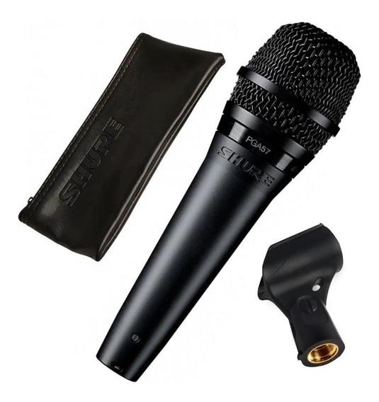 Microfone Shure Pga57lc Para Instrumentos Cardioide Dinamico