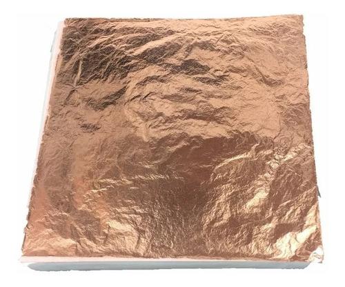 100 Folhas De Cobre 16x16 Alta Qualidade F R M  Sobrepostas