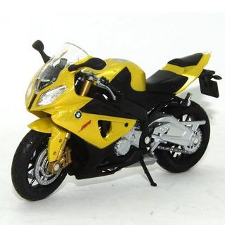 Moto Coleção Miniatura Bmw S1000rr Escala 1/18 Cal19660