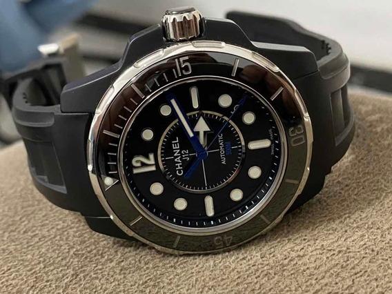Relógio Chanel J12 Altomatico 300. Metros De Luxo