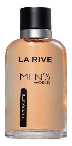 Mens World La Rive Eau De Toilette - Perfume Masculino 90ml