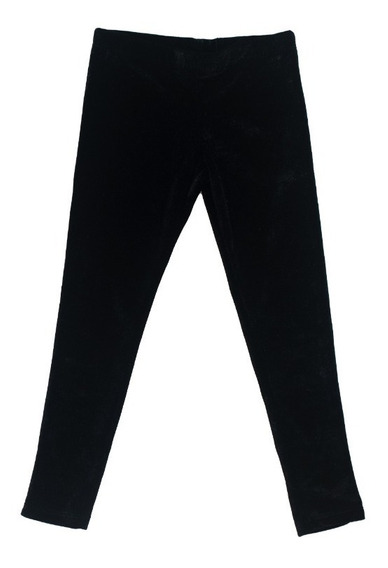 Calzas Nena Invierno Terciopelo Negra H/ T.14 Regalosdemama