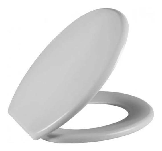 Assento Sanitário Tampa De Vaso Oval Plástico Astra Soft