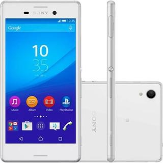 Sony Xperia M4 Aqua Dual 4g 16gb E2363 Branco Vitrine