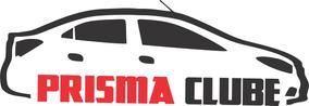 Kit 3x Adesivo Clube Do Prisma Carro Personalizado 22cm A219