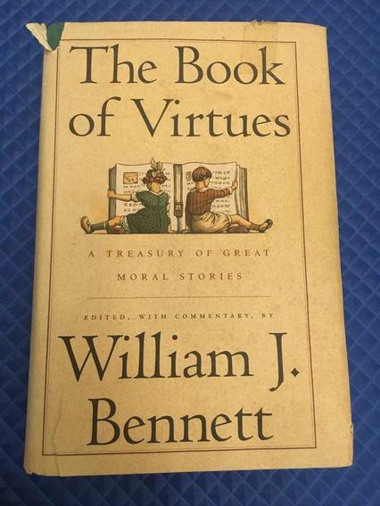 Livro the Book Of Virtues - Em Inglês, Usado Em Bom Estado