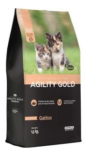 Agility Gold Gatitos 3kg - kg a $24300
