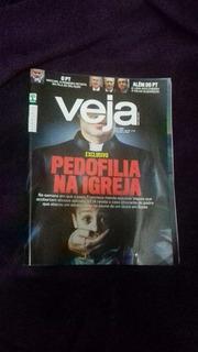 Revista Veja Pedofilia Na Igreja N 24 / 15 Jun 2016