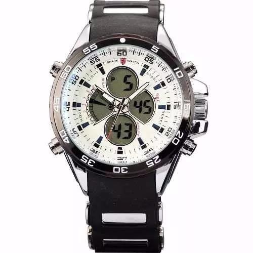 Relógio Masculino Pulso Weide Digital Wh-1103-r-frete Grátis