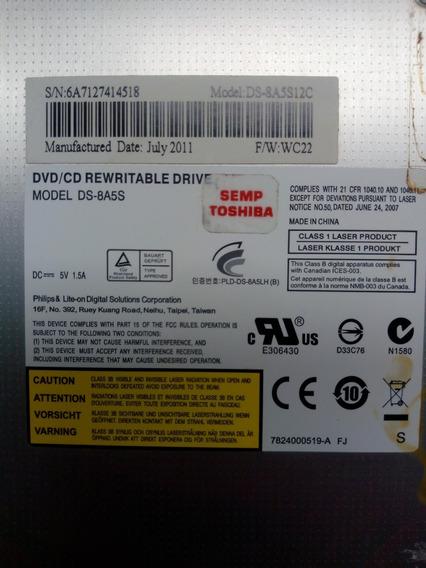 Gravador Dvd Notebook Ds-8a5s