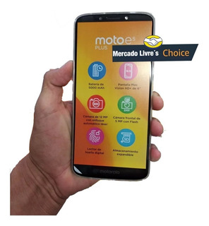 Smartphone Moto E5 Plus 32gb 3gb Ram Android 8 Cam 12mp