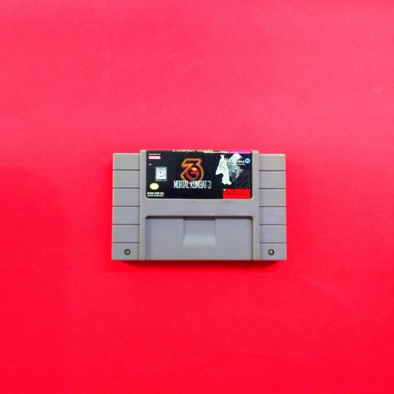 Mortal Kombat 3 - Original Nintendo Snes