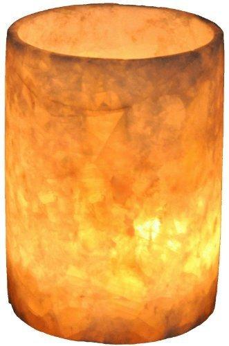 Imagen 1 de 2 de Candelabro Tallado A Mano De Piedra De Alabastro Blanco Suav