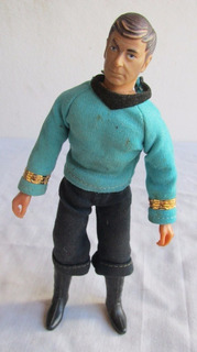 Antigua Figura Star Trek Dr. Mc Coy, Mego 1974 Original