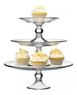 Bases Para Postres Cupcakes Pastel 3 Pisos Desmontable