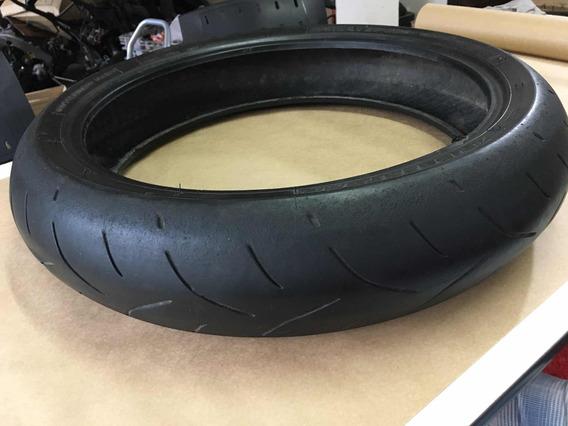 Pneu Dianteiro Moto Meio Uso Bridgestone Battlax 120/70/17