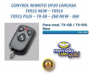 Carcasa De Control Remoto Dp20 Tx915 New Tx-sb - Tx360