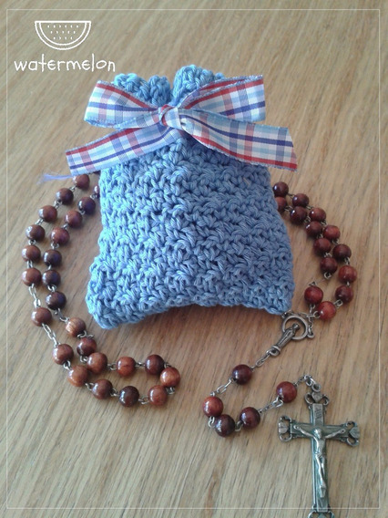 Monedero Tejido Al Crochet En Hilo Modelo Francisca