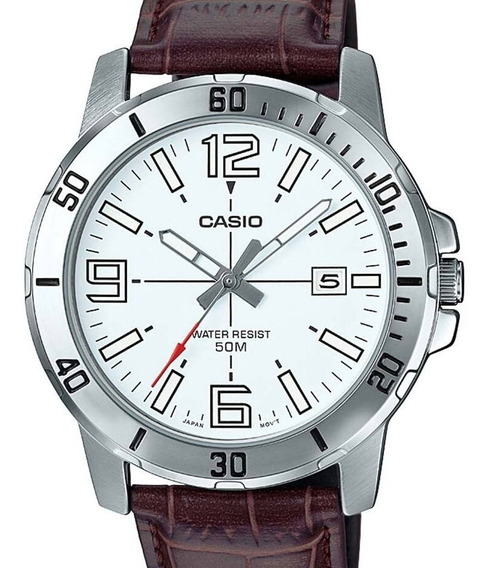 Relógio Casio Masculino Collection Mtp-vd01l-7bvudf