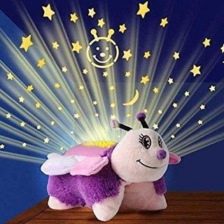 Peluche Lampara Pillow Pets Dream Lites Mariposa 30 Cms