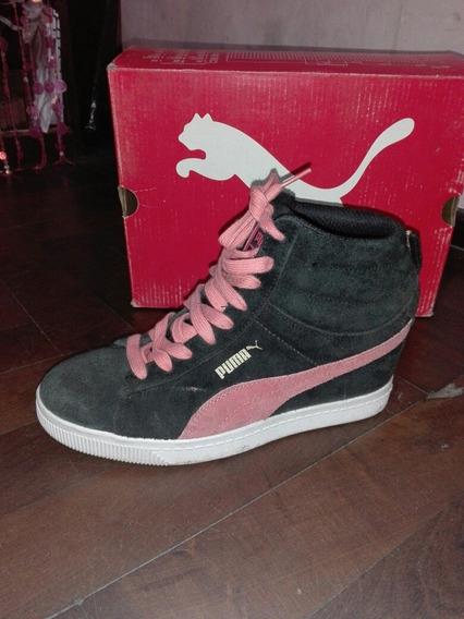 Zapatillas Puma Con Taco Mujer Talle 39