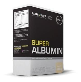 Super Albumin 500g - Probiótica Sabores Envio Rápido
