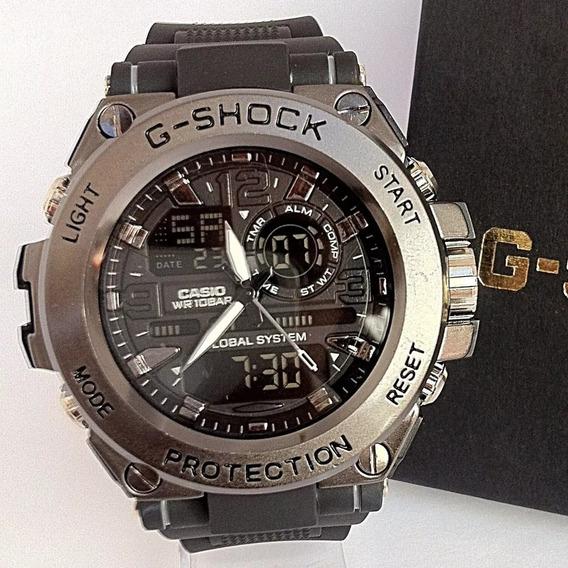 Relógio G-shok Homen De Ferro, Preto (lançamento P. Entrega)