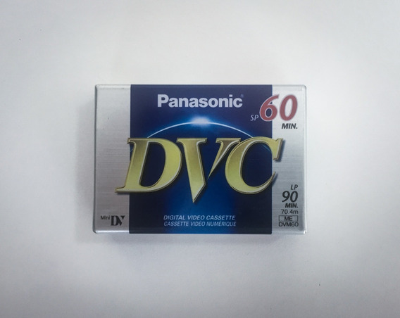 Fita Panasonic Dvm60 Lacrada