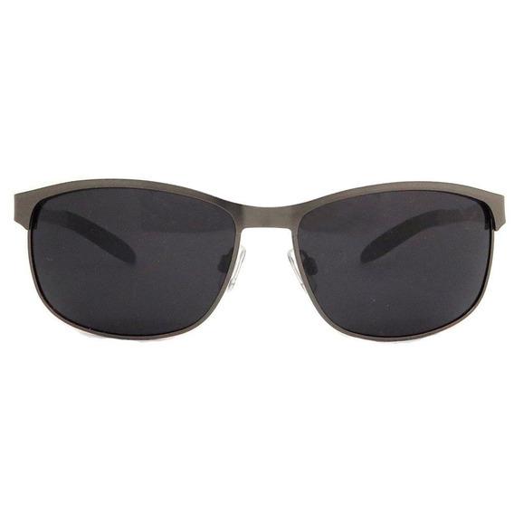 Óculos Siracusa Italiano Polarizado Alumínio Chumbo