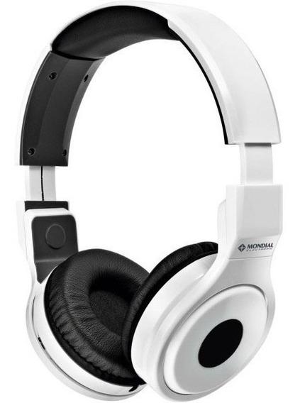 Fone Ouvido Mondial Street - Headphone Branco Hp-02