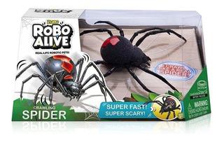 Brinquedo Aranha Com Movimento Robo Alive 15cm - Candide