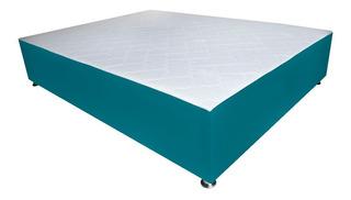 Cómoda Base Cama 90x190+colchón Incorporado. Varios Colores.