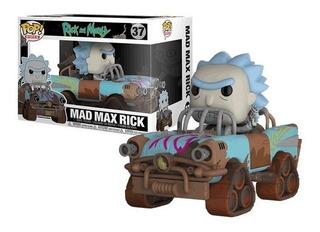 Funko Pop Mad Max Rick 37 Rick And Morty Baloo Toys