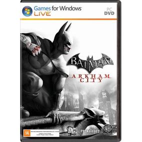 Game Pc Batman Arkham City - Original - Novo - Lacrado