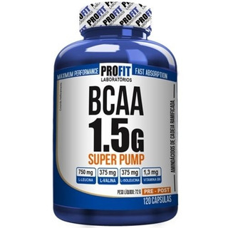 Bcaa 1.5 Super Pump 120 Caps