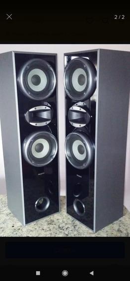 Vendo Par Torres Sony Muteki 140w - Super Novas