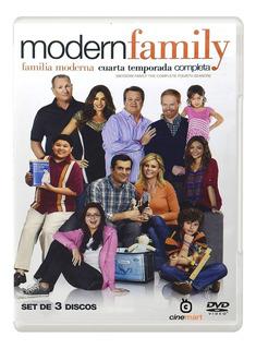 Modern Family Cuarta Temporada 4 Serie Dvd