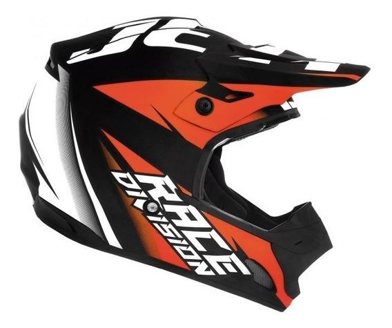 Capacete Infantil Jett Factory Edition Neon Trilha/motocross