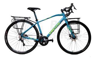 Bicicleta Venzo Traveler 18 Vel Gravel Sora 3000 Bora Bikes