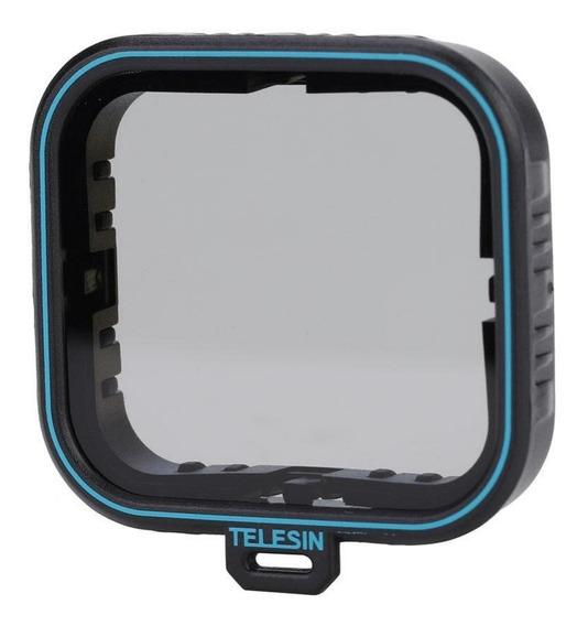 Filtro Polarizador Cpl Telesin Gopro Hero 5 6 7 Black