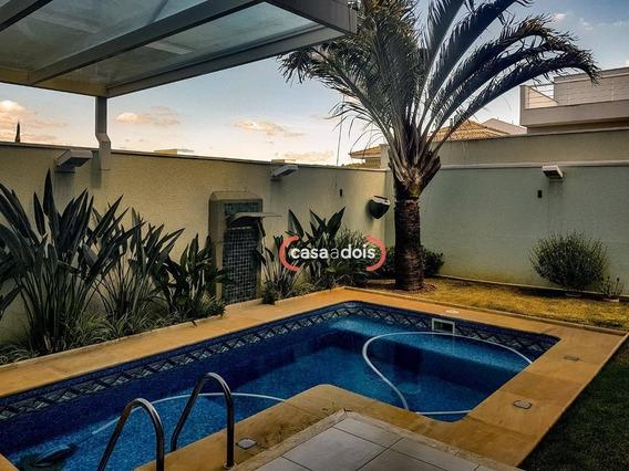 Sobrado Com 3 Dormitórios À Venda, 292 M² Por R$ 1.380.000,00 - Condomínio Residencial Aldeia Da Mata - Votorantim/sp - So0255
