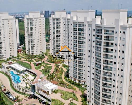 Apartamento Em Alphaville De 133m² Com 3 Suítes E 2 Vagas No Resort Tamboré. - Ap00112 - 69218001