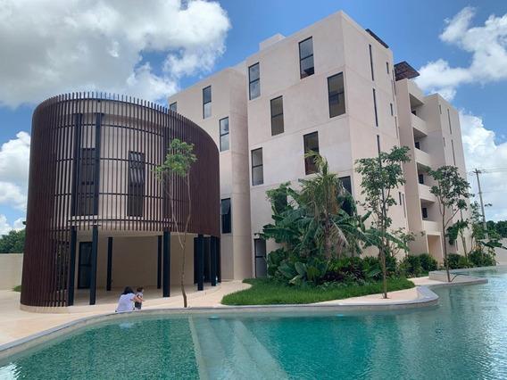 Departamento En Venta/renta, 2 Recámaras, Arbolada, Av. Huayacán, Cancún