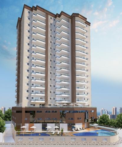 Imagem 1 de 14 de Vm5 - Excelente Apartamento 2 Dorm. De Frente Ao Mar