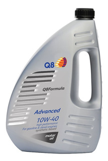 Lubricante Para Motor Q8 Advanced 10w-40 - 1 L