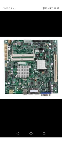 Firewall Server Motherboard Supermicro X9scaa Mini Itx 2 Lan