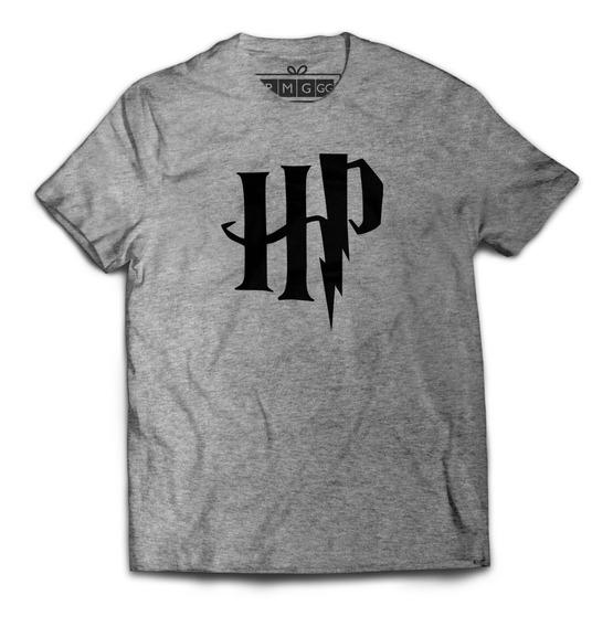 Camiseta Camisa Harry Potter Hp Logo Magia Bruxo Hermione