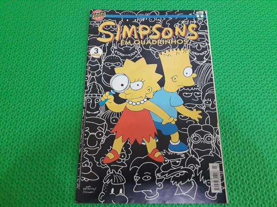Revista Simpsons Em Quadrinhos Número 3 Antigo E Raro