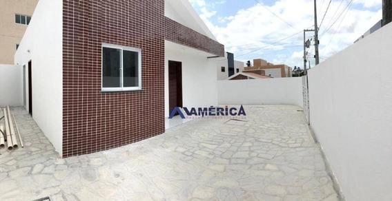 Casa Com 2 Dormitórios À Venda, 61 M² A Partir De R$ 165.000 - Cuiá - João Pessoa/pb - Ca0035