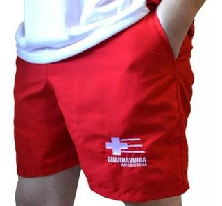 Short Guardavidas Ropa Lifeguard Socorristas Salvamento
